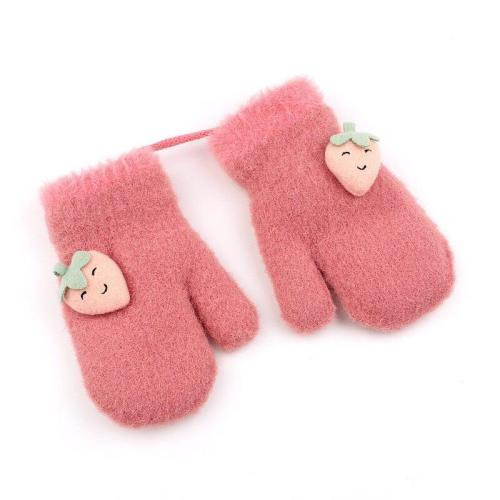 Winter Baby Knitted Gloves Warm Rope Full Finger Mittens Gloves