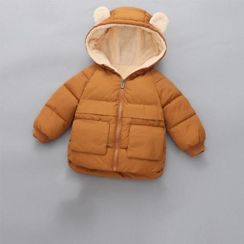 Coat Kids Winter Jacket For Boys Warm Fleece Boys Clothes