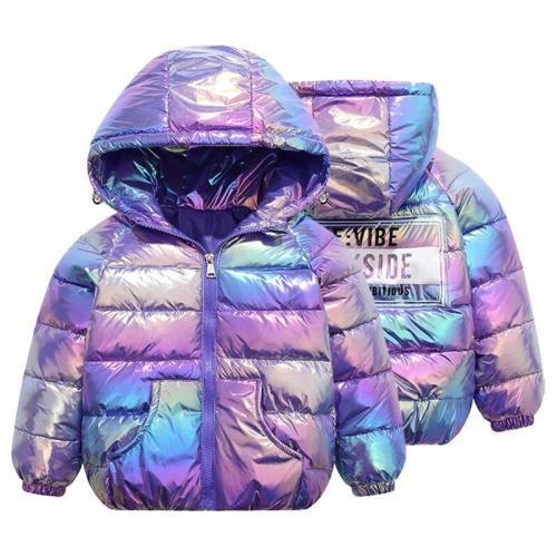 Children Cotton-padded Jacket Boys Winter Warm Coat