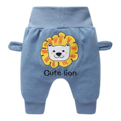 Newborn Infant Baby Harem Pants Boys Cartoon Long Harem Pants