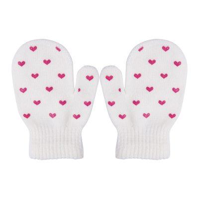 Baby Knitting Warm Soft Gloves Kids Dot Star Heart Pattern Mittens