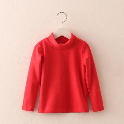 Turtleneck Baby Girls Sweater Kid Tops Casual Toddler Cotton Clothes