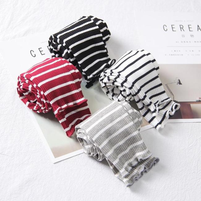Girls leggings Pants Baby Classic Leggings Baby Girls Striped leggings