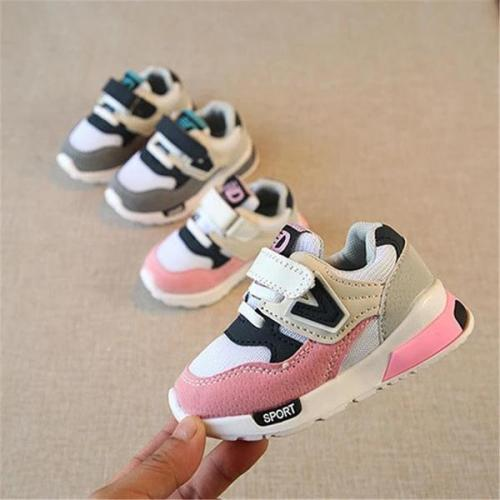 Children Sport Shoes Breathable Kids Boys Anti-Slippery Sneakers