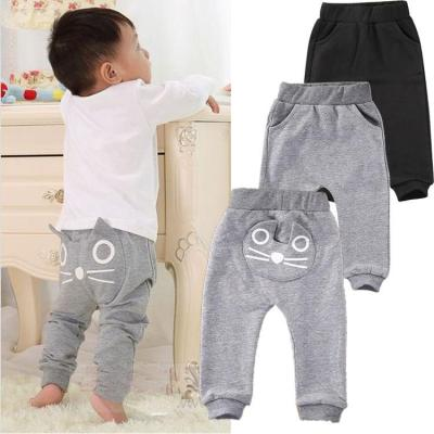 Animal Bottoms Clothes Cute Baby Kids Boys Pants Cotton