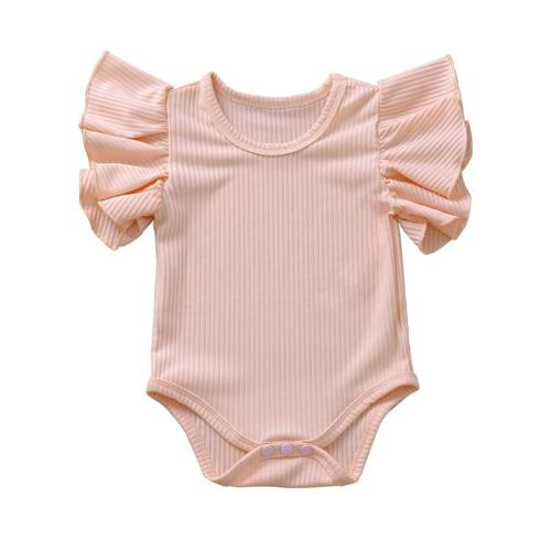 Newborn Set Body Suit Baby Girl Cotton Short Sleeve Bodysuit