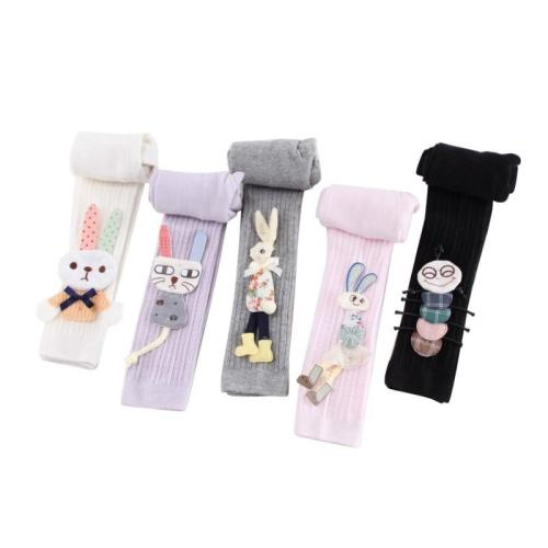 Toddler Baby Girls Leggings Newborn Cartoon Rabbit Kids Cute Stretchy Warm Trousers