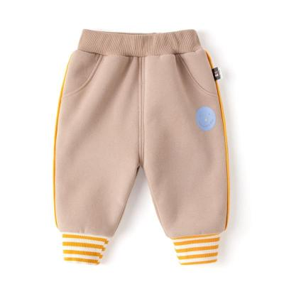 Baby Boys Toddler Pants Thick Trousers Stripe Cute Pants