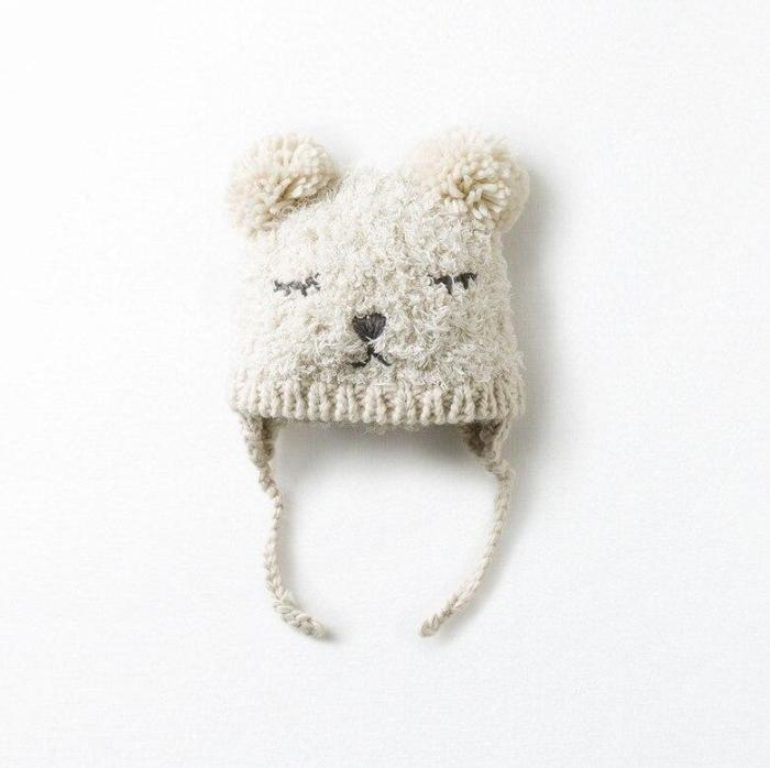 Hand Made Knitted Hat for Baby Crochet Knit Hat for Baby Chidrens
