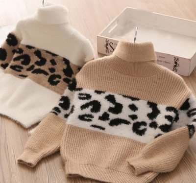 Kids Thicken Sweater Children Cotton Pullover