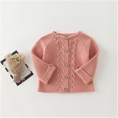 Children Sweater Warm Pullover Cotton Knitted Cardigan Outerwear