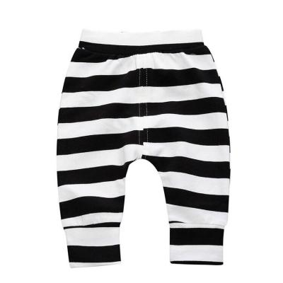 Elastic Waist Baby Pants Cotton Baby Boy Clothes Striped Loose