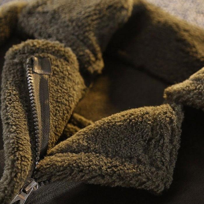 Boys Wool Coat Jacket Winter Kids Windproof Children Clothing Outerwear