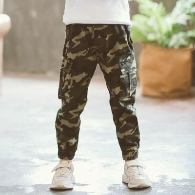 Boys Camouflage Pants Amy Trousers Casual Kids Boy Pants