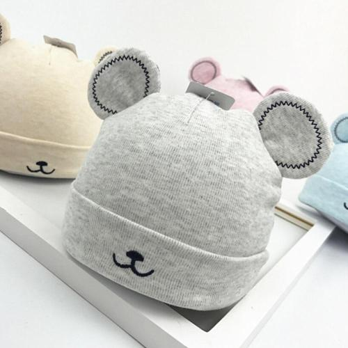 Baby Toddler Girls Boy Warm Hat Winter Beanie Hat Cute Ears Plush Cap