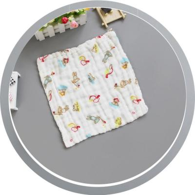 Cotton Baby Towel Handkerchief Colorful Kids Wipe Cloth Newborn Baby Face Towel