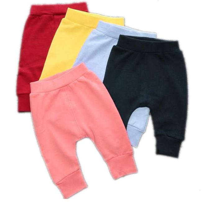Toddler Boys Pants Casual Cotton Elastic Waist Trousers