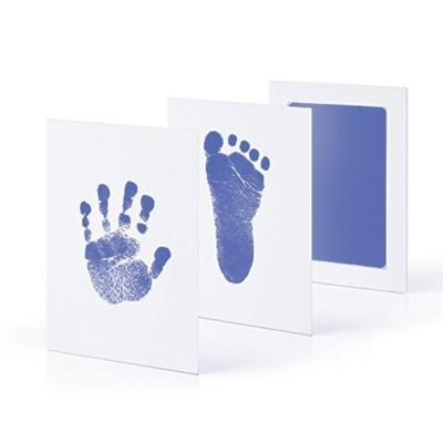 Non-Toxic Baby Handprint Footprint Imprint Kit Baby Souvenirs