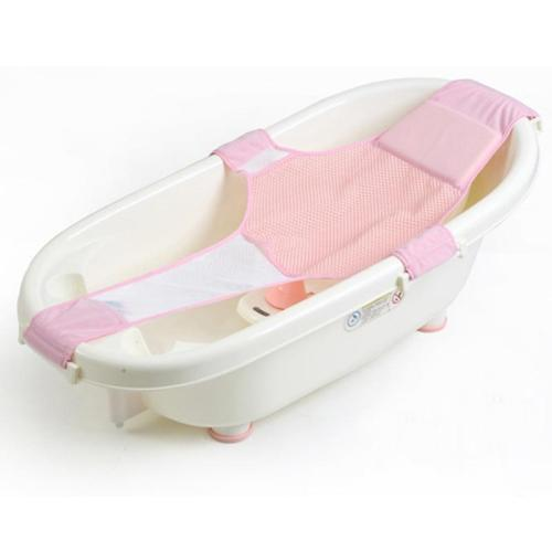 Baby Care Adjustable Infant Shower Bathtub Toddler Bathing Cradle Bed