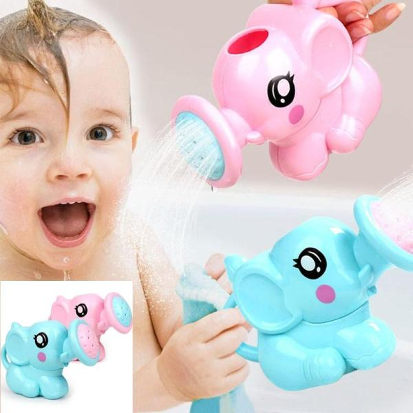 Baby Cartoon Elephant Shower Cup Newborn Child Shower Shampoo Cup