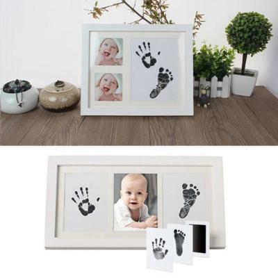Baby Footprint Imprint Kit Non-toxic Newborn Infant Souvenir
