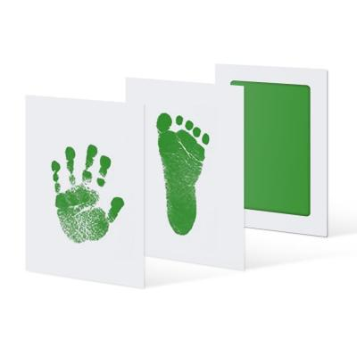 Cute Safe Non-toxic Baby Inkless Handprint Footprint Kit