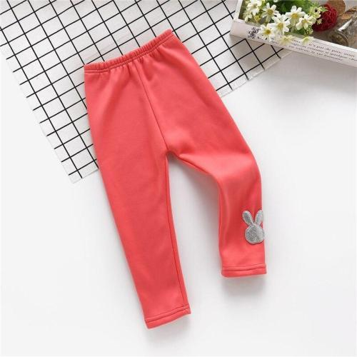 Kids Warm Leggings Children Pants Full Length Child Trousers