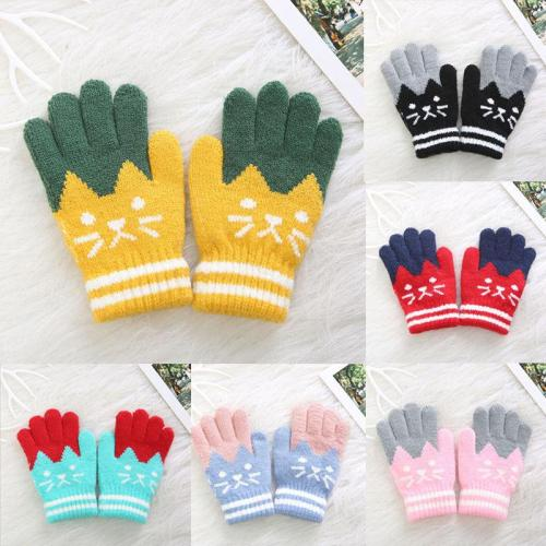 Kids Winter Warm Thick Gloves Baby Toddler Magic Mittens