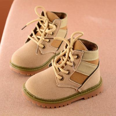 Boys Solid Gentleman Fashion Martin Boots Boys Boots Soft Outdoor Shoes