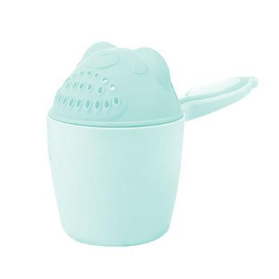 Cute Cartoon Shampoo cup Baby Spoon Shower Bath Water Swimming Head Watering Bottle