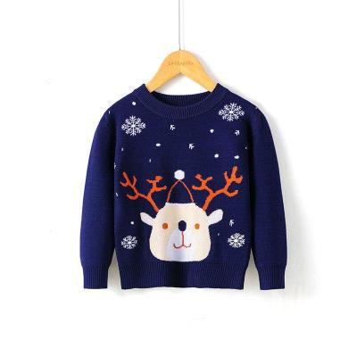 Children's Sweater For Girl Winter Clothes Knitted Christmas Tops