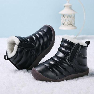 Winter Kids Boots Waterproof Snow Shoes Toddler Boys Ankle Boots