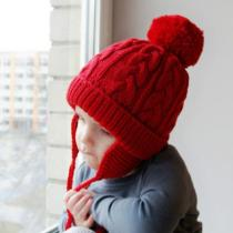 Kids Warm Crochet Knitted Hat Newborn Beanies Caps Cute Toddler Cap