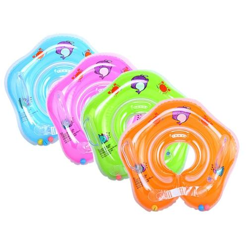 Swimming Baby Pools Accessories Baby Inflatable Ring Baby Neck Inflatable Wheels