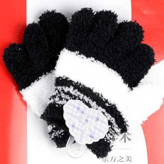 Toddler Kids Winter Gloves Fleece Soft Full Gloves Finger Warm Winter Accessories