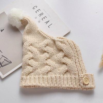 Baby Hat Cotton Wool Knitteed Girls And Boys Hats Cute Cap