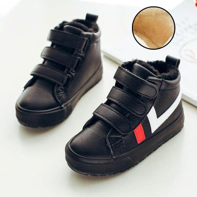 Winter Kids Boots Boys Cotton Shoes Plus Outdoor Velvet Warm Boots