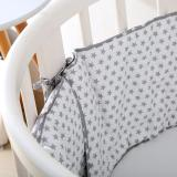Baby Crib Bumper Pads Breathable Soft Comfortable Crib Liner Protector