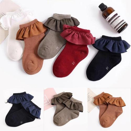Baby Toddler Knee High Cotton Autumn Winter Socks