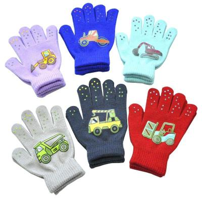 Winter Warm Gloves for Children Thickened Kids Baby Mittens Outdoor Sports