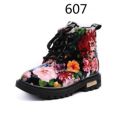 Kids Snow Boots Girls' Winter Non-slip Boots Children Fashion Martin Boots