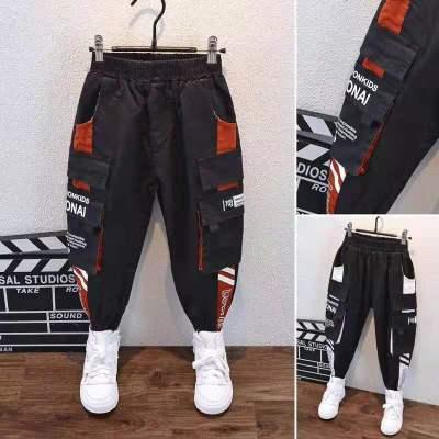 Teenage Boys Pants Cotton Casual Loose Pants