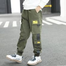 Hip Hop Boys Pants Cargo Harem Pants Multi-pockets Joggers Boys Sweatpants