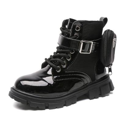 Winter Leather Kids Boots Winter Children Fashion Ankle Boots