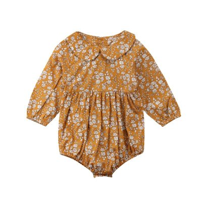 Newborn Baby Girls Clothing Infant Baby Girls Floral Rompers