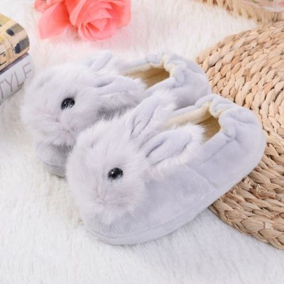 Toddler Infant Slippers Kids Baby Warm Shoes Girls Cartoon Soft-soled Home Shoes