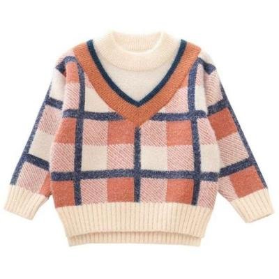 Children Girl Socket Sweater Baby Thickening Underwear Kids Clothes