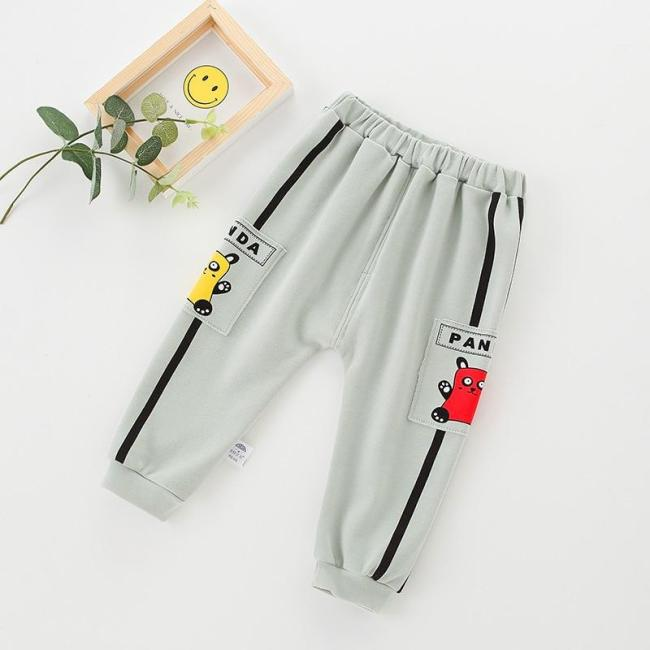 Fashion Boy Clothing Baby Cargo Pants Newborn Cool Harem Trousers