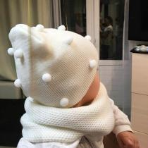 Baby Girl Boy Knit Hat Baby Soft Elastic Children Casual Warm Cap