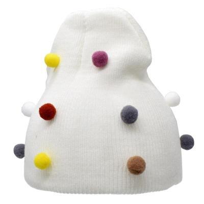 Baby Girl Boy Knit Hat Baby Soft Elastic Children Casual Warm Cap